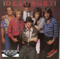 Vintage Deluxury ‎Deluxury First Year Pressing 1983 US Hot Vinyl Records ‎H.V. 1002 Vinyl LP Record Album