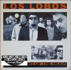 Vintage Los Lobos By The Light Of The Moon Club Edition First Year Pressing 1987 US Slash , Warner Bros. Records 9 W1-25523 Vintage Vinyl LP Record Album
