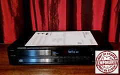 Vintage 1987 Kenwood DP-560 Compact Disc Player With Manual