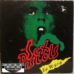 Vintage The Sex Pistols Live Worldwide First Year Pressing Belgium Import 1985 Konexion KOMA 788017 Vintage Vinyl LP Record Album