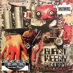 The Mothers Of Invention Burnt Weeny Sandwich First Year Pressing 1970 US Bizarre Records RS 6370 Vintage Vinyl Record Album