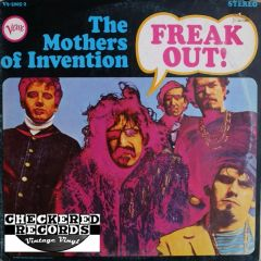 The Mothers Of Invention Freak Out! 1973 US Verve Records V6-5005-2 Vintage Vinyl Record Album