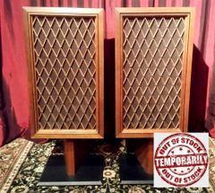 Vintage 1969 Pioneer CS-77 Floor Standing Speakers Tested Excellent Local Pick Up Aurora IL 60503