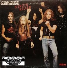 Scorpions Virgin Killer First Year Pressing 1976 US RCA Victor PPL1-4225 Vintage Vinyl Record Album