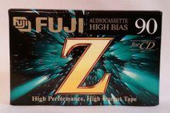 New Fuji Z 90 High Bias High Output Audio Cassette 90 Minute Blank Audio Cassette Tape