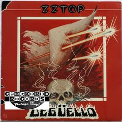 Vintage ZZ Top Degüello First Year Pressing 1979 US Warner Bros Records HS 3361 Vintage Vinyl LP Record Album