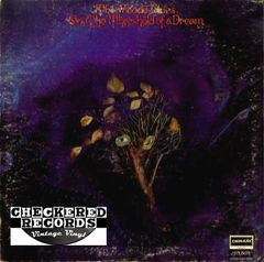 The Moody Blues On The Threshold Of A Dream First Year Pressing 1969 US Deram ‎DES 18025 Vintage Vinyl Record Album
