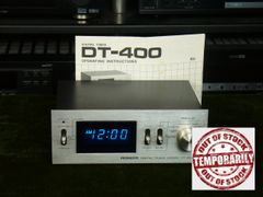 Vintage Pioneer DT-400 500 Watt Max Fluoroscan Digital Audio Timer With Original Manual