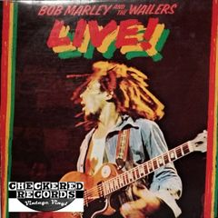 Bob Marley & The Wailers ‎Live! First Year Pressing 1975 US Island Records ILPS 9376 Vintage Vinyl Record Album