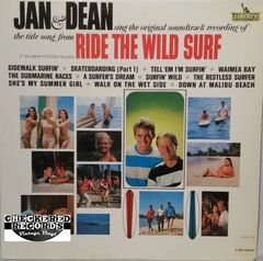 Vintage Jan & Dean Ride The Wild Surf First Year Pressing 1964 US Liberty ‎LRP-3368 Vintage Vinyl LP Record Album