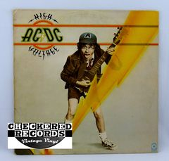 Vintage AC/DC High Voltage ATCO SD 36-142 1976 VG+ Vintage Vinyl LP Record Album