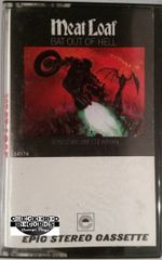 Vintage Meat Loaf Bat Out Of Hell 1977 US Epic PET 34974 Cassette Tape