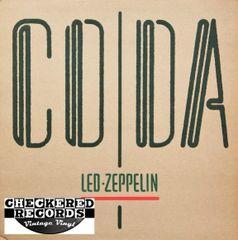 Led Zeppelin Coda First Year Pressing 1982 US Swan Song 90051-1 Vintage Vinyl Record Album