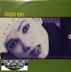 Fonda Rae Living In Ecstasy First Year Pressing 1996 US Wave Music WM50011 Vintage Vinyl Record Album