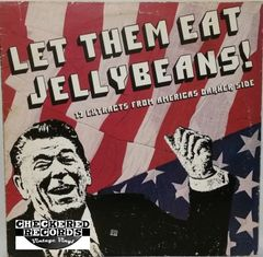 Vintage Dead Kennedys Black Flag DOA Circle Jerks & More Let Them Eat Jellybeans! 1982 US Alternative Tentacles ‎VIRUS 4 Vintage Vinyl LP Record Album