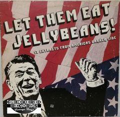 Vintage Dead Kennedys Black Flag DOA Circle Jerks & More Let Them Eat Jellybeans! 1982 US Alternative Tentacles VIRUS 4 Vintage Vinyl LP Record Album