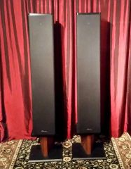 Vintage Mirage OM-10-1 Omnipolar Floor Standing Tower Speakers Local Pick Up Item Aurora IL 60503
