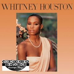 Vintage Whitney Houston Self Titled Whitney Houston First Year Pressing 1985 US Arista ‎AL8-8212 Vintage Vinyl LP Record Album
