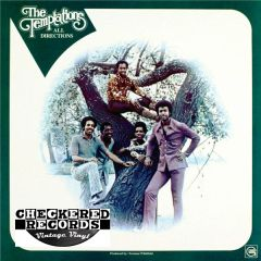 Vintage The Temptations All Directions First Year Pressing 1972 US Gordy ‎– G 962 Vintage Vinyl LP Record Album