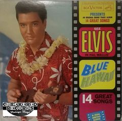 Elvis Presley Blue Hawaii First Year Pressing 1961 US RCA Victor LPM-2426 Vintage Vinyl Record Album