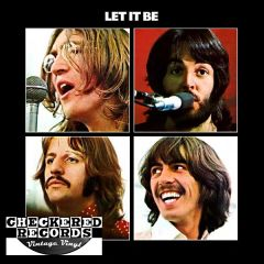 The Beatles ‎Let It Be First Year Pressing 1970 US Apple Records ‎AR 34001 Vintage Vinyl Record Album