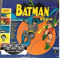 The Sensational Guitars Of Dan & Dale Batman And Robin First Year Pressing 1966 US Tifton 78002 Vintage Vinyl LP Record Album
