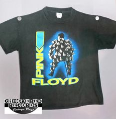 Vintage PINK FLOYD 1989 Momentary Lapse Of Reason Vintage European Tour Concert T-Shirt HTX Handtex X-Large