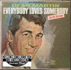 Vintage Dean Martin Everybody Loves Somebody First Year Pressing 1964 US Reprise Records RS-6130 Vintage Vinyl LP Record Album