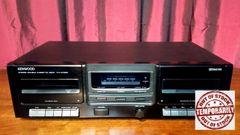 Vintage Kenwood KX-W1060 Dual Stereo Cassette Deck Vintage Cassette Tape Deck