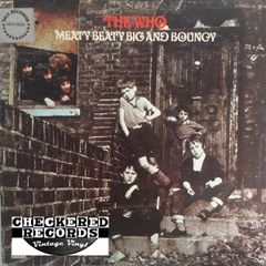 Vintage The Who Meaty Beaty Big And Bouncy 1977 US MCA Records MCA-3025 Vinyl LP Record Album