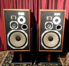 Vintage 1976 Pioneer HPM-100 200 Watt Version Loudspeaker System Floor Standing Speakers Local Pick Up Item Aurora IL 60503