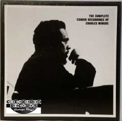Vintage Charles Mingus The Complete Candid Recordings Of Charles Mingus 4 Album Limited Edition Box Set 1985 US Mosaic Records MR4-111 Vintage Vinyl LP Record Box Set