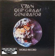 Vintage Van Der Graaf Generator World Record First Year Pressing 1976 US Mercury SRM-1-1116 Vinyl LP Record Album