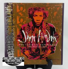 Vintage 1995 First Edition Jimi Hendrix The Ultimate Experience Adrian Boot and Chris Salewicz Macmillan Reference Book