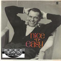 Frank Sinatra Nice 'N' Easy 1975 US Capitol Records SM-1417 Vintage Vinyl Record Album