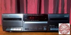 Vintage Kenwood CT-201 Stereo Dual Cassette Tape Deck