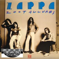 Frank Zappa Zoot Allures First Year Pressing 1976 US Warner Bros. Records BS 2970 Vintage Vinyl Record Album