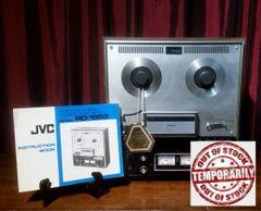 Vintage 1973 JVC RD-1553 Stereo Tape Deck Reel To Reel Excellent