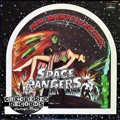 Vintage Neil Merryweather Space Rangers First Year Pressing 1974 US Mercury SRM-1-1007 Vinyl LP Record Album