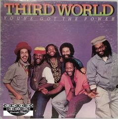 Vintage Third World You've Got The Power First Year Pressing 1982 US Columbia FC 37744 Vintage Vinyl LP Record Album