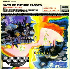 Vintage The Moody Blues Days Of Future Passed First Year Pressing London Deram DES 18012 1967 NM- Vintage Vinyl LP Record Album
