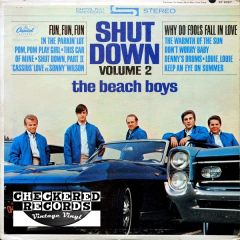 Vintage The Beach Boys Shut Down Volume 2 First Year Pressing 1964 US Capitol Records ‎ST-2027 Vintage Vinyl LP Record Album