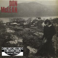Vintage Don McLean ‎Don McLean SEALED First Year Pressing 1972 US United Artists Records UAS-5651 Vintage Vinyl LP Record Album