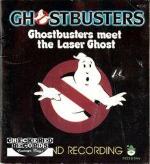 Ghostbusters Meet The Laser Ghost 1985 US Peter Pan # 2031 Vintage Vinyl Record Album