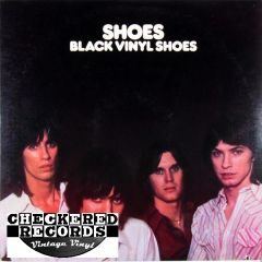 Vintage Shoes Black Vinyl Shoes 1978 US PVC Records PVC 7904 Vintage Vinyl LP Record Album