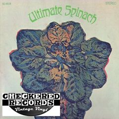 Vintage Ultimate Spinach ‎Ultimate Spinach First Year Pressing 1968 US MGM Records SE4518 Vinyl LP Record Album