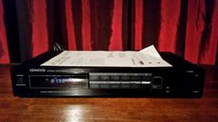 Vintage Kenwood Stereo Synthesizer Tuner KT-56 With Manual