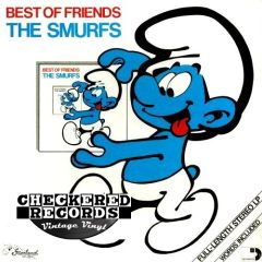 Vintage The Smurfs Best Of Friends First Year Pressing 1982 US Starland Music ARI 1027 Vintage Vinyl LP Record Album