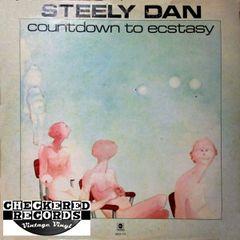 Vintage Steely Dan Countdown To Ecstasy First Year Pressing Blocks Label 1973 US ABC Records ABCX-779 Vinyl LP Record Album