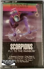 Vintage Scorpions ‎Fly To The Rainbow 1985 US RCA Victor AYK1-5057 Cassette Tape